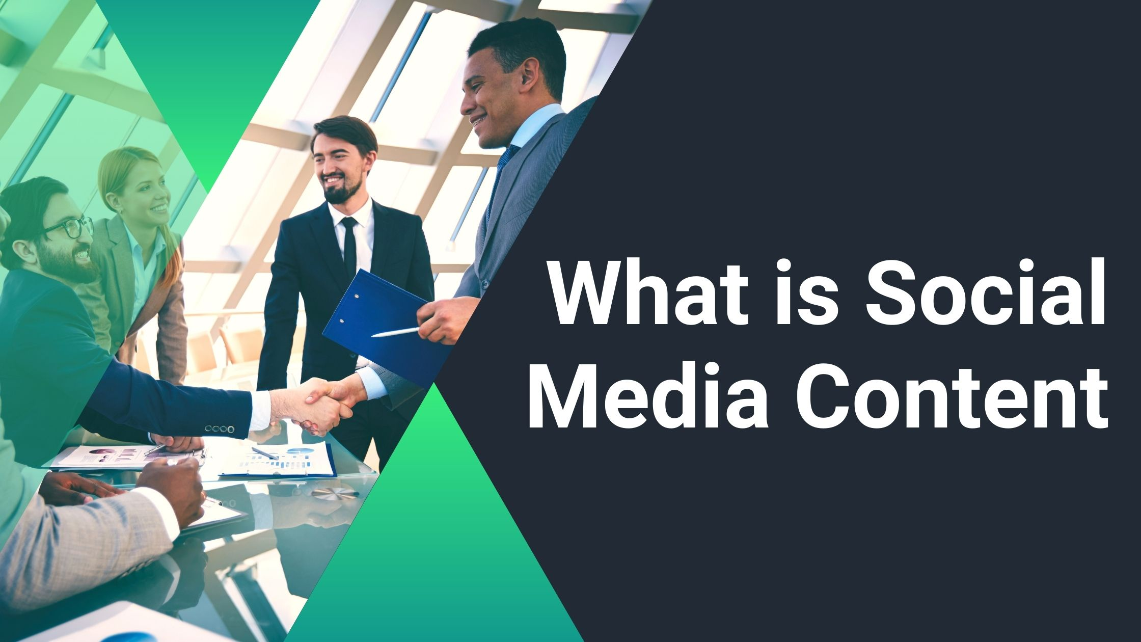 What is Social Media Content